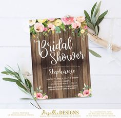d52cadc944c 39 Best Bridal Shower Invitations - PrisellieDesigns on Etsy images ...