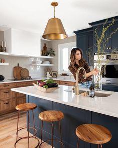 Kitchen Post, Home Decor Kitchen, Kitchen Interior, Home Kitchens, Kitchen Decorations, Decorating Kitchen, Home Renovation, Home Remodeling, Küchen Design
