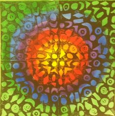 RNE Art Blog: 4th Grade Styrofoam Printmaking