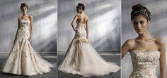 lazaro's pink wedding dress