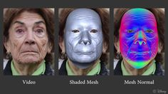 Disney Real-Time High-Fidelity Facial Performance Capture, Real-Time High-Fidelity Facial Performance Capture, ACM Siggraph 2015, Disney Research Zurich, Real-time face reconstruction, local wrinkle model, high-fidelity performance capture
