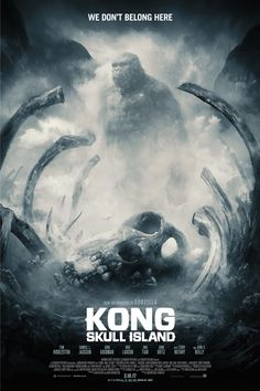 Kong: Skull Island is out on Blu Ray today!