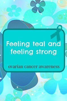 """Many of us share a bundle of emotions when discussing ovarian cancer- Many of us feel angry, many of us feel like we were """"ripped off""""....we hurt because we either feel more could have been done, o..."""