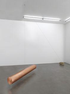 Keiji Uematsu, Floating form - Invisible axis, 2015, Simon Lee Gallery
