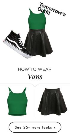 """Tomorrow's Outfit"" by usernamenotfound13 on Polyvore featuring Pilot, Vans, women's clothing, women, female, woman, misses and juniors"