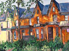 Cabbagetown Row Houses