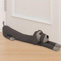 a draught excluder to block the gap under your door. Make a draught excluder to block the gap under your door. Door Draught Stopper, Draft Stopper, Door Stopper, Sewing Toys, Sewing Crafts, Sewing Projects, Diy Crafts, Porte Diy, Door Draft