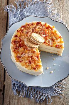 Greek Cooking, Pastry Art, Icebox Cake, Summer Treats, How Sweet Eats, Greek Recipes, Hawaiian Pizza, Confectionery, Cheesecake Recipes