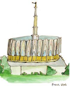 LDS Mormon Temple: Provo, Utah    www.MormonLink.com  #LDS #Mormon #SpreadtheGospel