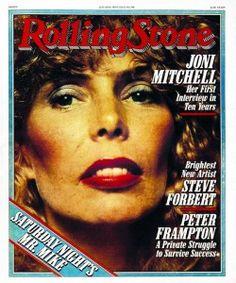 Joni Mitchell ~ July 26, 1979