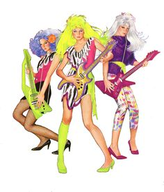 The Misfits - from Jem (they were actually cooler!)