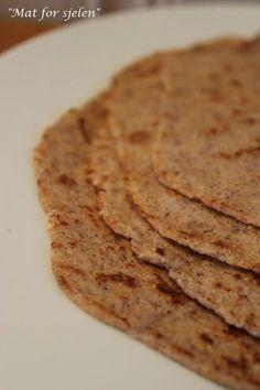 Mat for sjelen...: Lavkarbo Tortilla-lefser...
