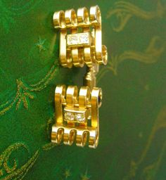 Toboggan Sled Design Cufflinks Vintage by NeatstuffAntiques, $75.00