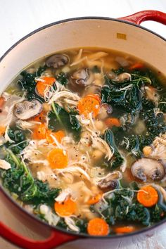 Eat Yourself Skinny Detox Immune-Boosting Chicken Soup &; Eat Yourself Skinny Stacey Reedy housewifeofict Souping This Detox Immune-Boosting Chicken Soup is the perfect […] detox soup clean eating Healthy Soup Recipes, Detox Recipes, Healthy Drinks, Healthy Cooking, Healthy Eating, Cooking Recipes, Detox Drinks, Healthy Winter Recipes, Healthy Detox Soup