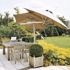 flexible adjustable paraflex umbrellas to wall mount or fix on a centre pole paraflex side mounted umbrellas from samson awnings - Best Patio Umbrella
