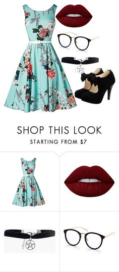 """""""outfit"""" by hjeanb on Polyvore featuring Lime Crime and Boohoo"""