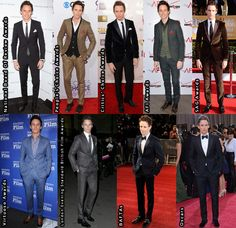 Eddie Redmayne Awards Season. I think the SAGs were my favorite...all that velvet he loves to wear!