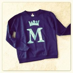 personalized Monogram sweatshirt $25.00