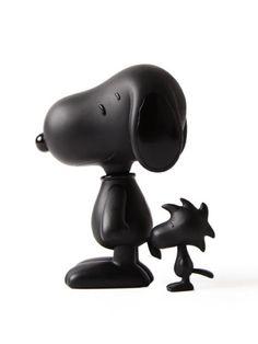 Le black Peanuts figurines