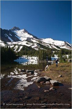 Backpacking Mt. Jefferson Oregon