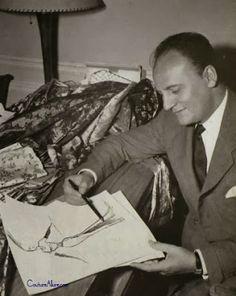 Pierre Balmain, 1950 Couture Allure Vintage Fashion