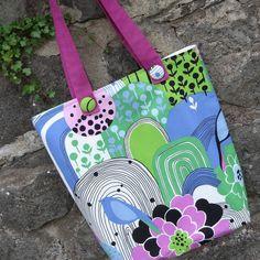 Bright tote bag £12.00