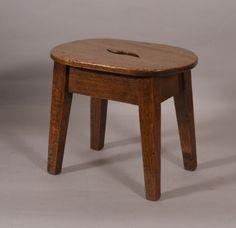 OnlineGalleries.com - 19th Century Ash Child's Stool