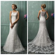 I found some amazing stuff, open it to learn more! Don't wait:https://m.dhgate.com/product/ivory-lace-sheath-wedding-dresses-2015-sheer/229195470.html