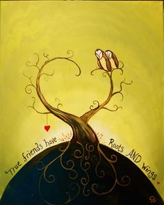 """""""Roots & Wings"""" by Jenny"""