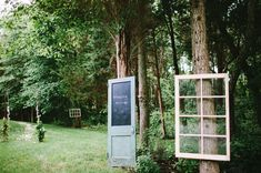 im pinning this because this wedding in the woods thing is my idea right now. I love this! it is sweet i would just want mine brighter and a little less rustic decor