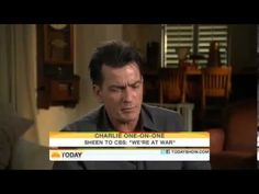Charlie Sheen Goes CRAZY on The Today Show - YouTube