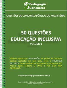 50 Questões de Educação Inclusiva