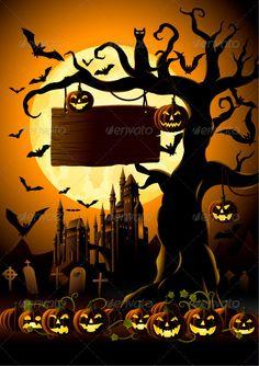 Spooky Halloween Night - Halloween Seasons/Holidays