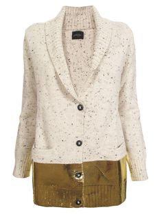I like this but maybe if the gold bottom was a tight skirt.