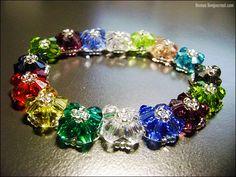 Bead Tutorial - [Tutorial] Crystal Bracelet #13