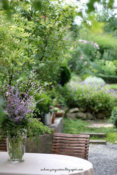 Friday Flowerday - Ein Schweizer Garten