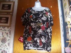 Coldwater Creek Short Sleeved Knit Top Size 3X