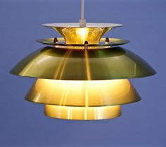 For sale: Danish pendant lamp in brass, Pendant Lamp, Danish, Vintage Designs, 1970s, Brass, Ceiling Lights, Lighting, Home Decor, Decoration Home