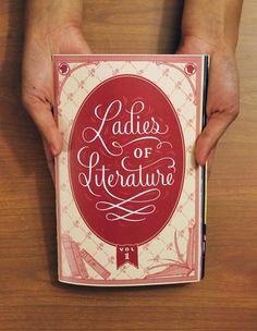 LADIES OF LITERATURE ZINE: Volume 1 from LADIES OF LITERATURE ZINE