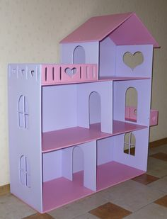 Barbie Bed /DollHouse Bed / Upholstered Bed / Bed For Barbie / Furniture For Doll / Furniture For Barbie / Bedroom Set / Doll Sofa Cardboard Dollhouse, Cardboard Toys, Diy Dollhouse, Diy Barbie Furniture, Dollhouse Furniture, Doll House Plans, Barbie Doll House, Toy Rooms, Diy Home Crafts