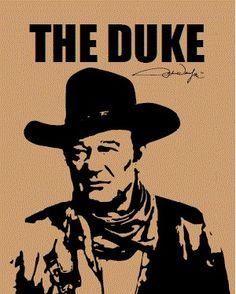John Wayne The Duke Blanket