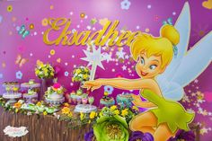 We created magic with Tinkerbell..   CatchMyParty.com