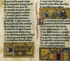 BnF : Le Roman de Renart - Renart et les anguilles