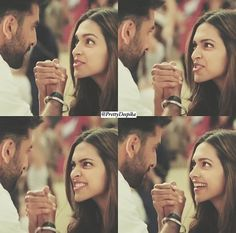 Ranveer Singh and Deepika Padukone #Cute #Couple