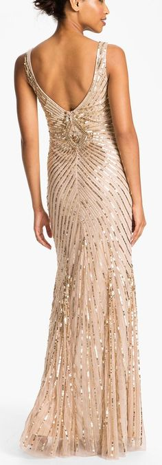 Wish I had an occasion to wear something like this!Gorgeous sequin gown by Aidan Mattox http://rstyle.me/n/tp2iin2bn