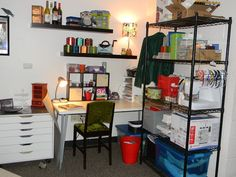 With Our Powers Combined: Studio & Storage: A's Space