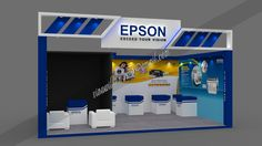 6 Metre x 3 Metre Executed Exhibition stand design