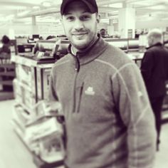 Another of him at Tescos