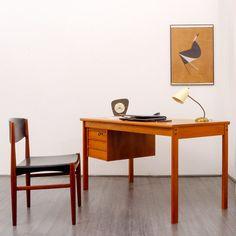 Vintage Tables – Danish desk, Peter Løvig Nielsen, Dansk Design – a unique product by Velvet-Point on DaWanda