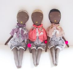 Jess Brown Dolls for Atsuyo et Akiko | Darling Clementine